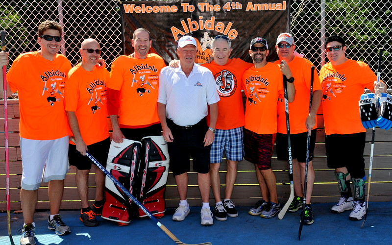 The 4th Annual Albidale Oldtimers Family Fun Day in Support of The Barkann Foundation!
