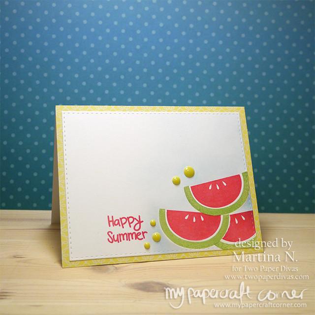 Happy Summer - Card #440