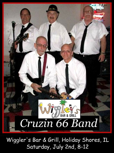 Cruzin 66 Band 7-2-16