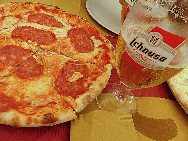 pizza piquante