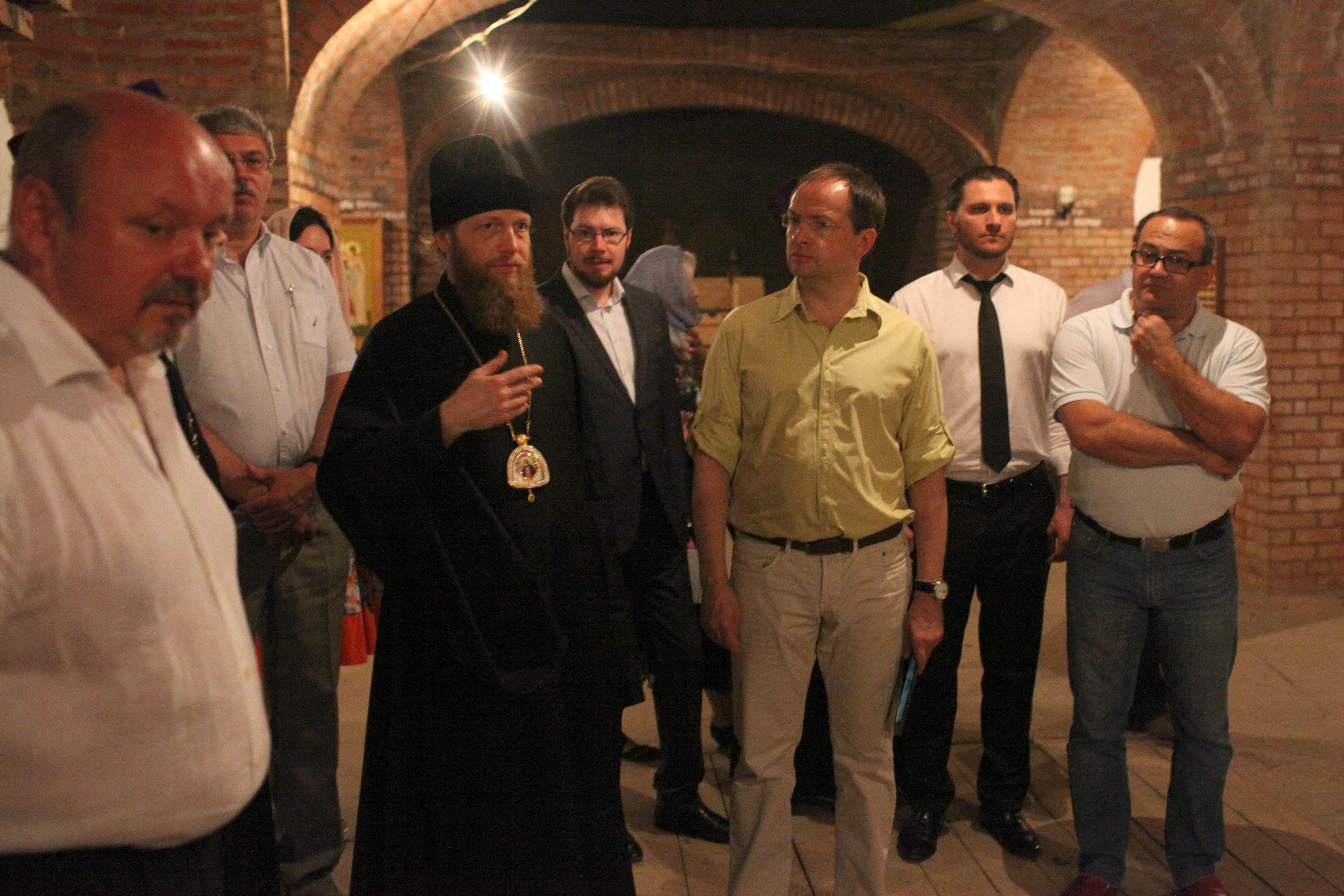 Заседание Попечительского совета храма Живоначальной Троицы в городе Троицк
