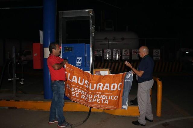 Clausuran Zeta Gas por rellenado ilegal de cilindros