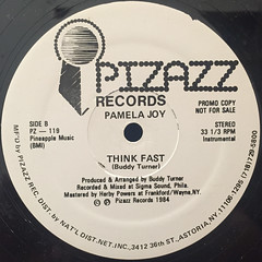 PAMELA JOY:THINK FAST(LABEL SIDE-B)