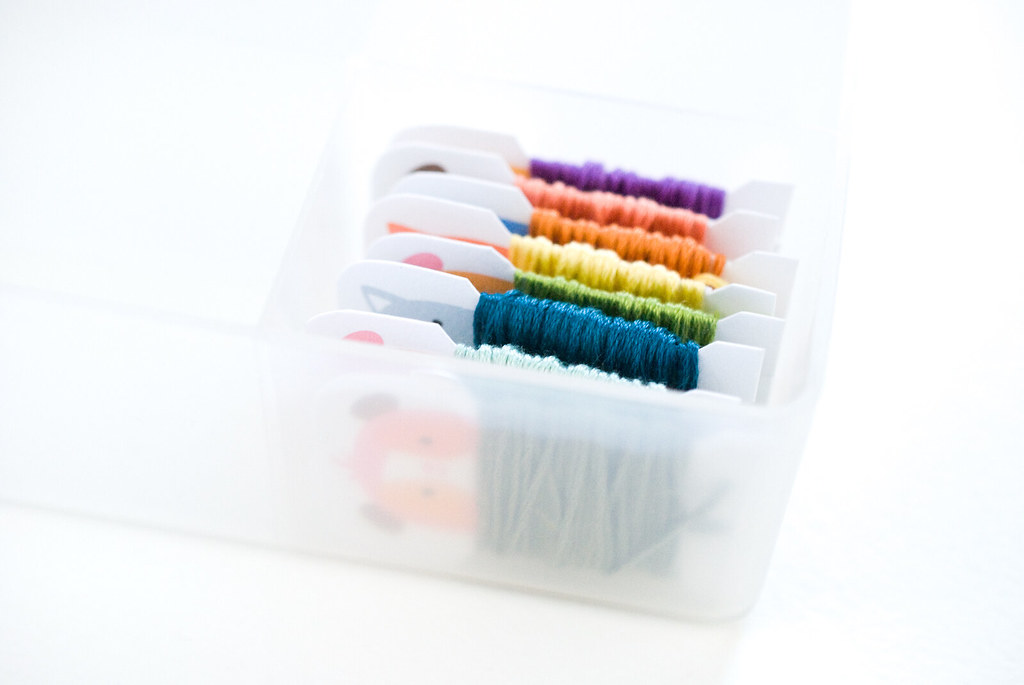 Sweet Creatures Printable Floss Bobbins