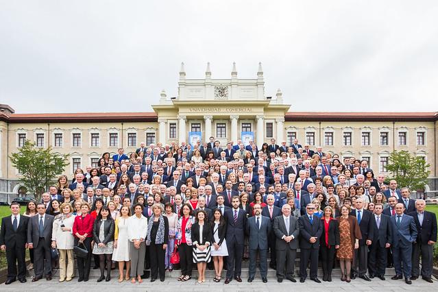Acto de Conmemoración del Centenario de La Comercial, Deusto Business School y la Fundación Vizcaína Aguirre