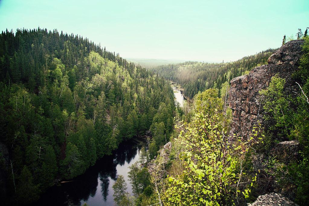 Paysage du parc d'Aiguebelle en Abitibi-Témiscamingue