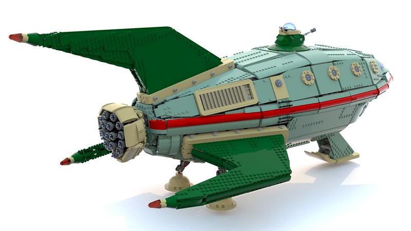 LEGO Planet Express Ship