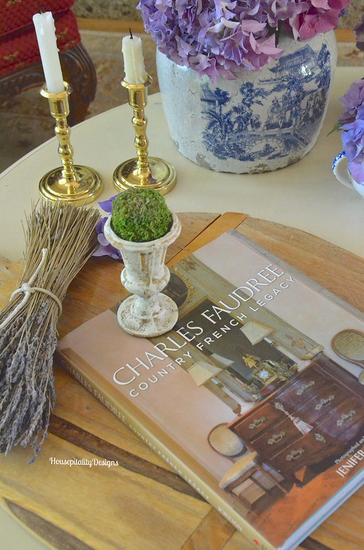 Coffee Table Vignette - Housepitality Designs