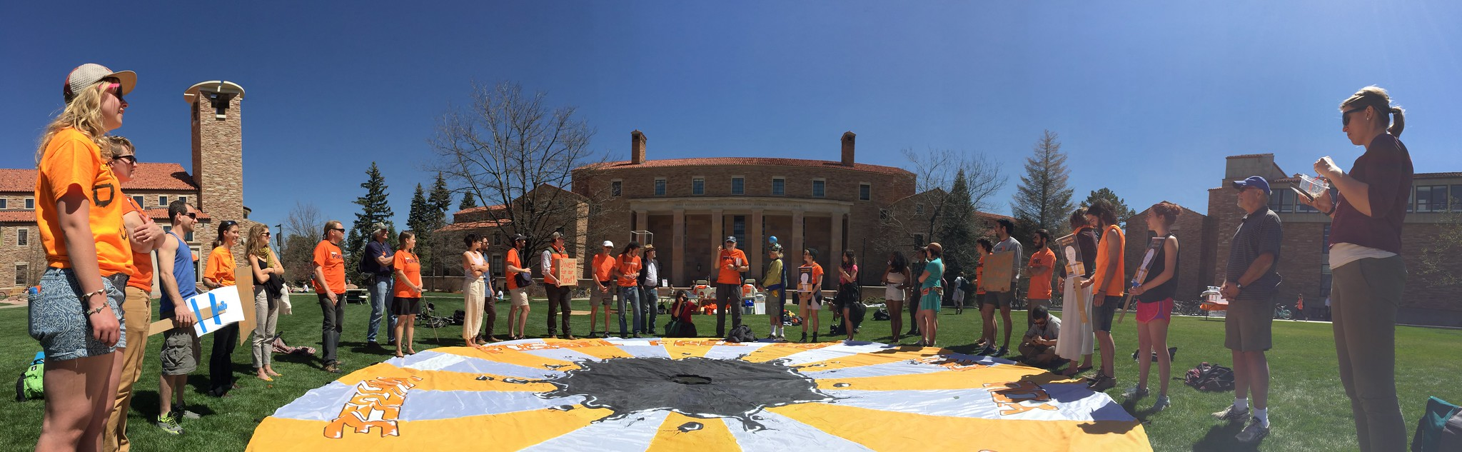 CU Boulder Escalation - April 14th, 2015
