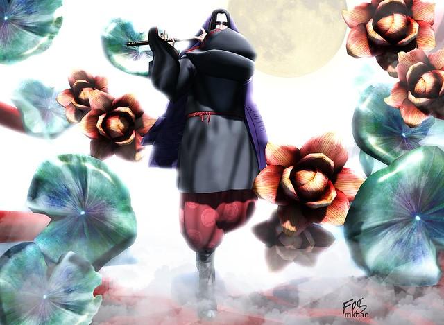 +HILU+USHIWAKA(black/red)