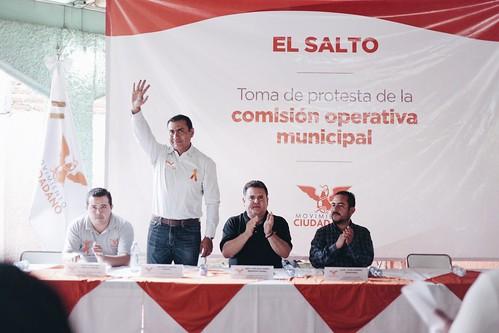 01 Julio 2016. Toma de protesta comisión operativa municipal El Salto