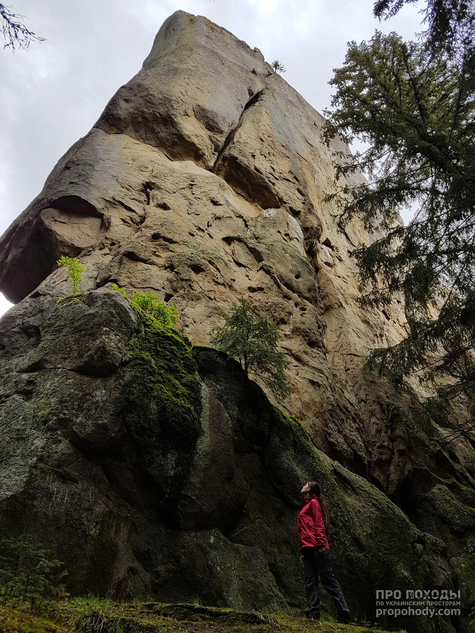 Гринявські гори. Угорські скелі