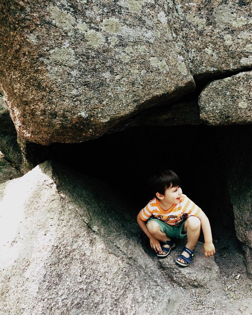 The spelunker. #instaluther #spelunking #exploring #childhood