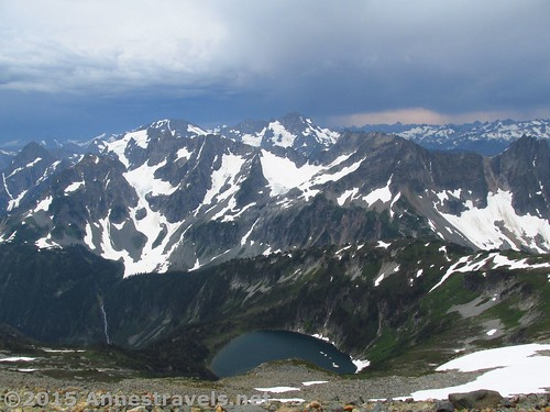 Views from atop Sahale Arm, North Cascades National Park, Washington