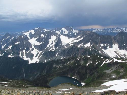 Views from atop Sahale Arm, North Cascades National Park, Washington