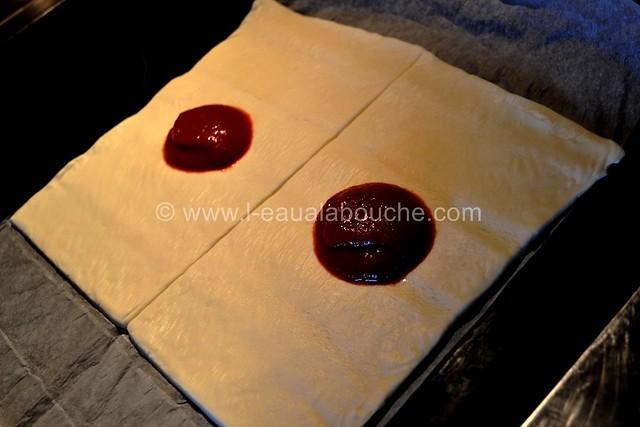 Pizettes au Jambon Chorizo & Asperges © Ana Luthi Tous droits réservés 001