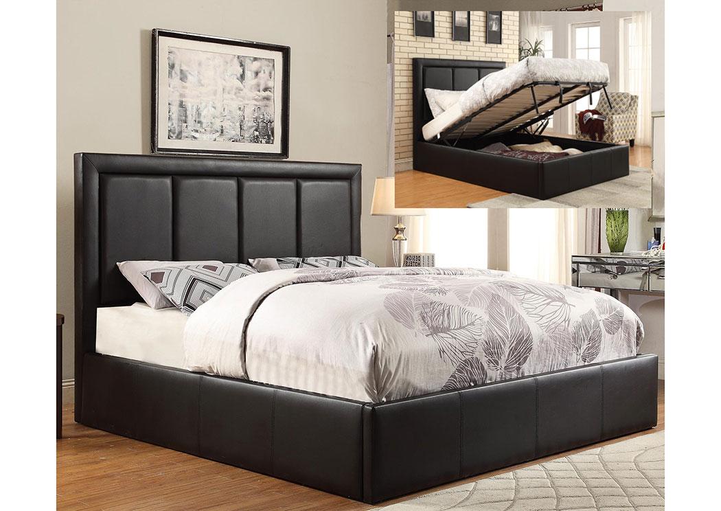 coaster twin bed storage