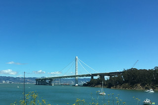 Views from Treasure Island - Bay Bridge