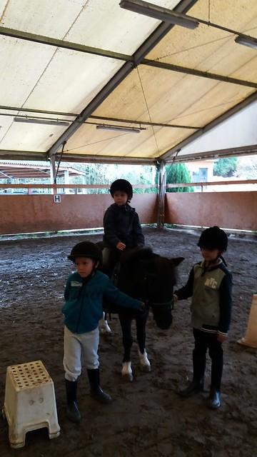 Les CP au poney