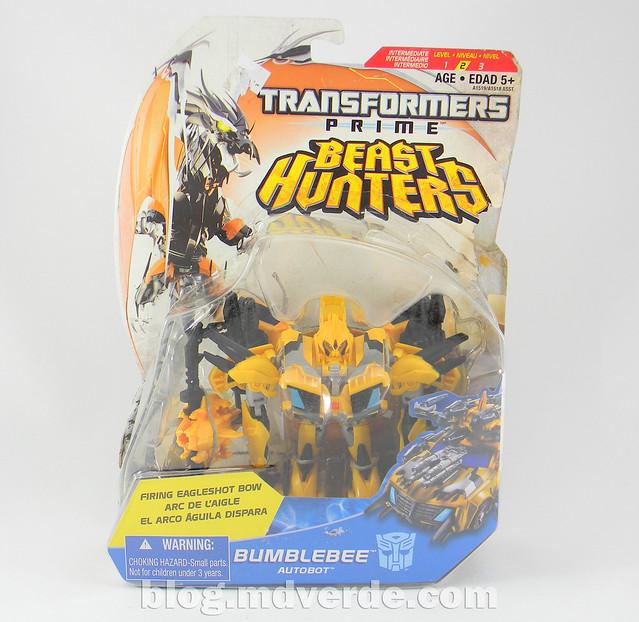 Transformers Bumblebee Deluxe - TF Prime Beast Hunters - empaque