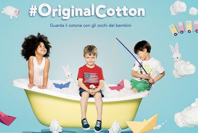 #originalcotton guardare il cotone con gli occhi dei bambini