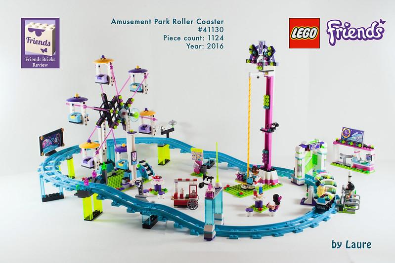 Lego  Friends Amusement Park Hot Dog Van Construction Set