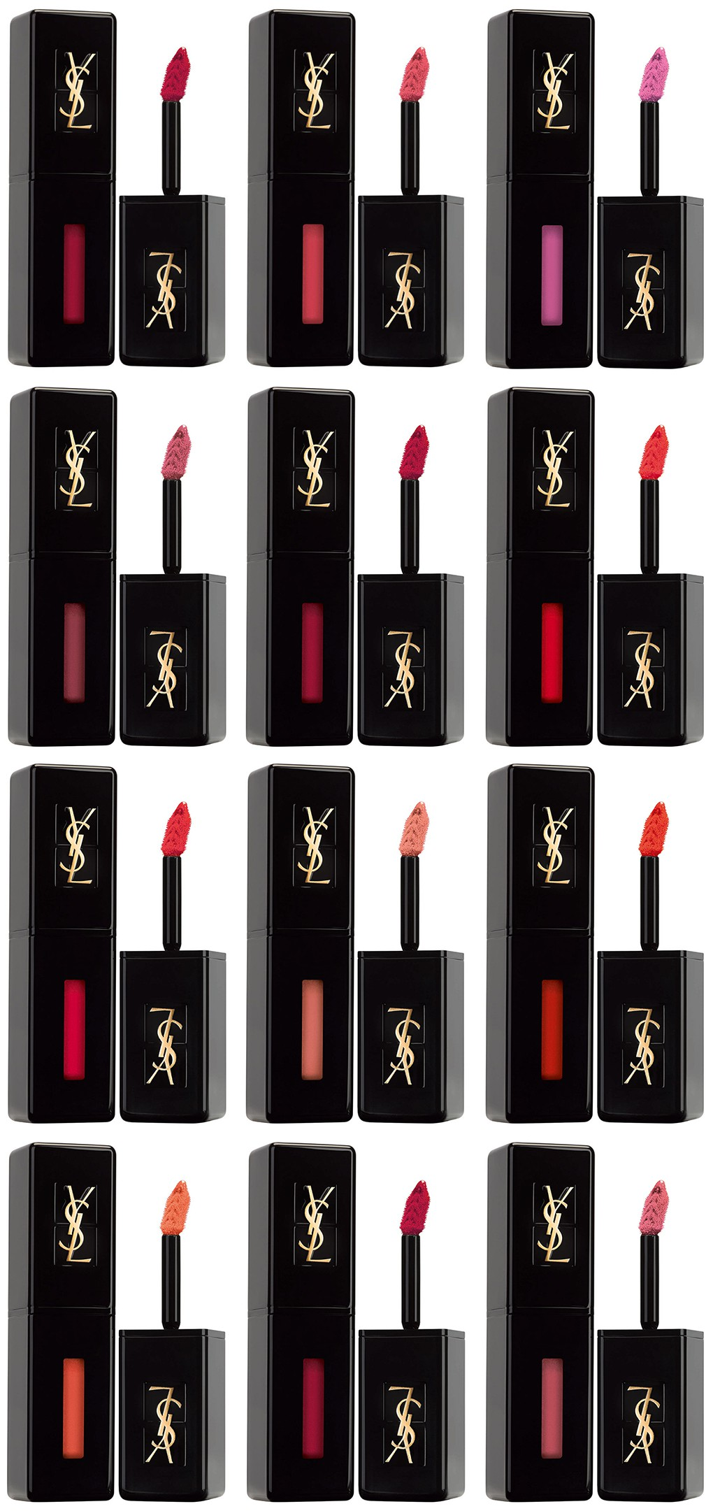 YSL Vinyl Cream Lip Stain Shades