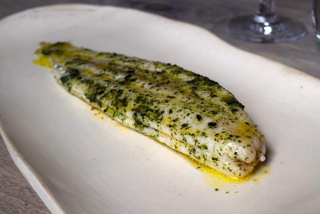 Slip Sole in Seaweed Butter at The Sportsman, Seasalter | www.rachelphipps.com @rachelphipps
