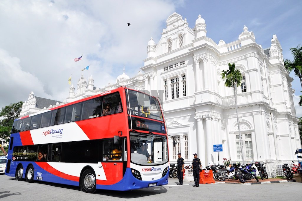 Launching Of Rapid Penang Double-Decker Buses (20 July 2016)