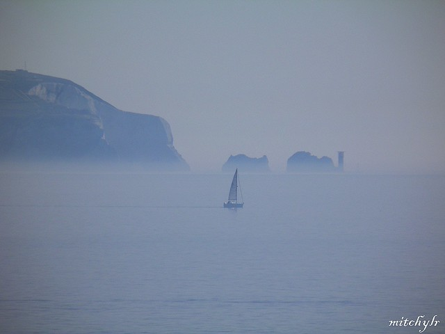 Sailing In The Mist 1