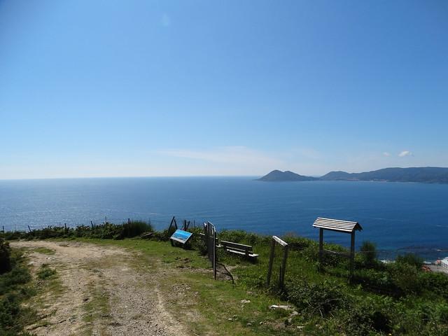Mirador monte Dordo en Porto do Son