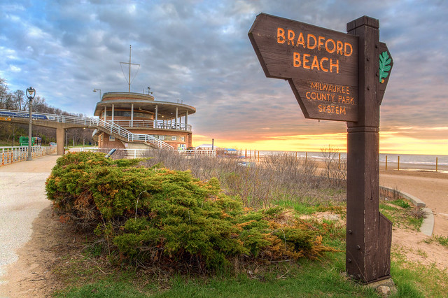 Bradford Beach Sunrise