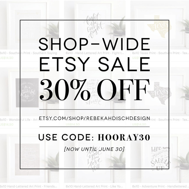 160610 Etsy Sale