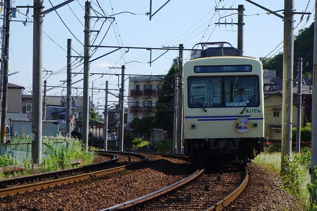 2016/06 叡山電車×NEW GAME! 2016アニメ版ラッピング車両 #10