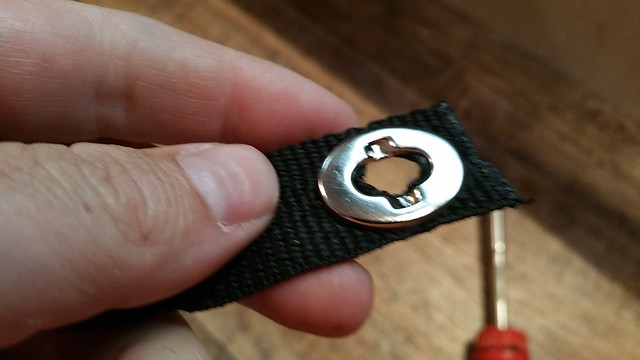 Turn button buckle - front