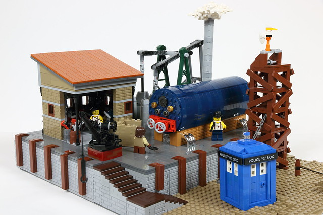The doctor visits a victorian scrapyard the brothers brick the brothers brick - Tardis selber bauen ...