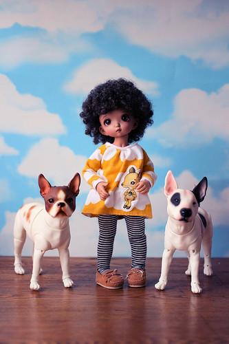 Winnie, Matilda & Bodger