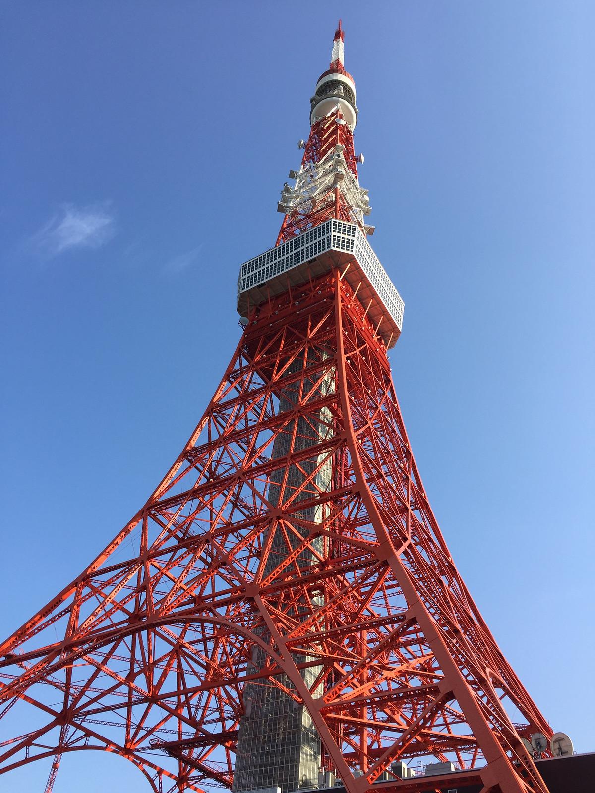 東京タワー レタッチ後