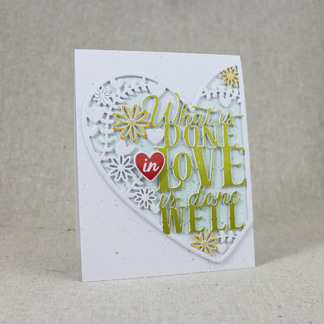 Done In Love Card