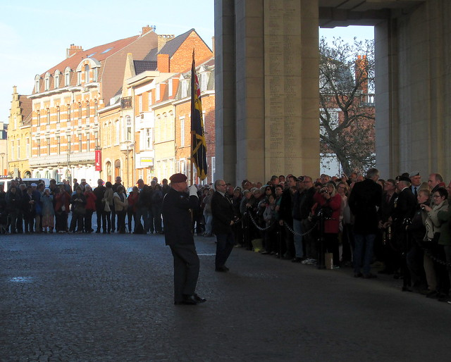 Prelude to Last Post Ceremony, Menin Gate