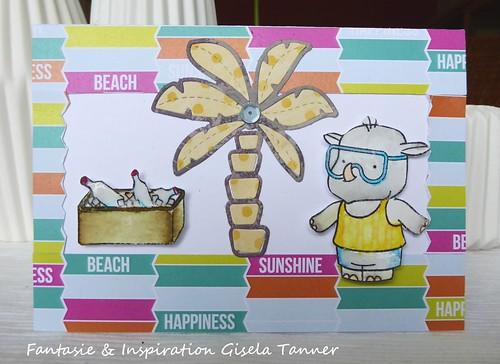 Eine Sommerliche Geburtstagskarte