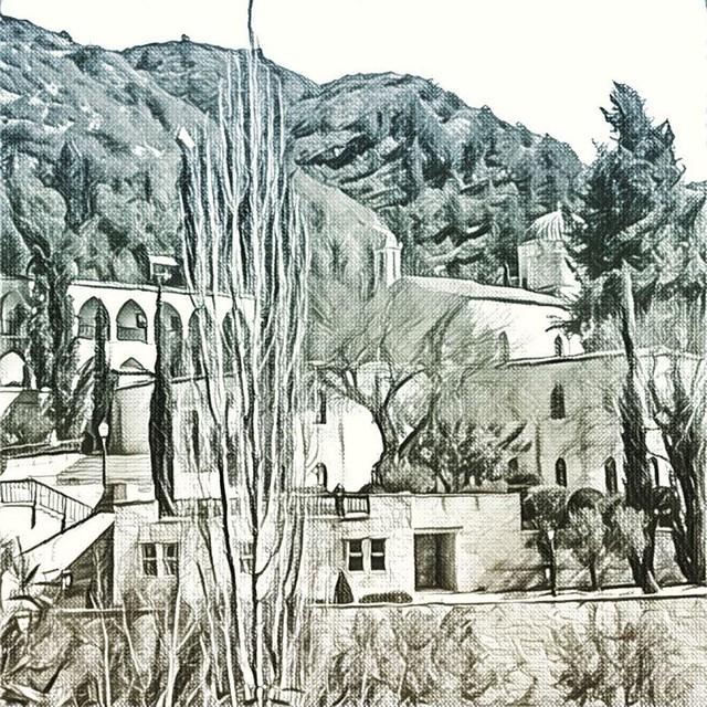 Монастырь святого Неофита #кипр #cyprus #my_love_cyprus #monastery #монастырь #prisma #prismaart #prosmainsta #prismatu