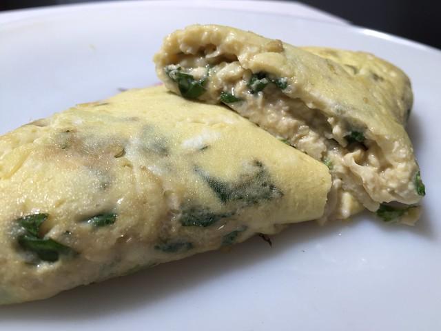 Shiso/Basil Omelette