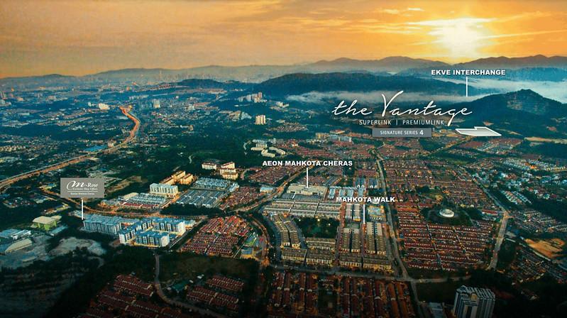 the vantage signature bandar mahkota cheras map