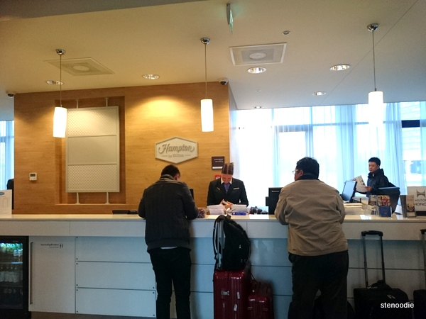 Hampton by Hilton Amsterdam Airport Schipholl front desk