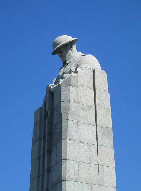 aThe Brooding Soldier Monument Detail