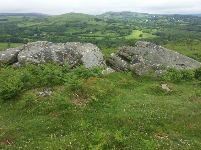 Lower Leighon Tor (upper outcrop)