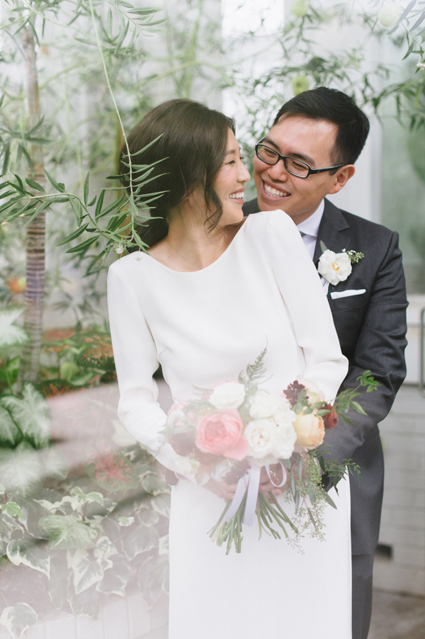 Celine Kim Photography Allan Gardens Auberge du Pommier romantic intimate restaurant Toronto fall wedding-27