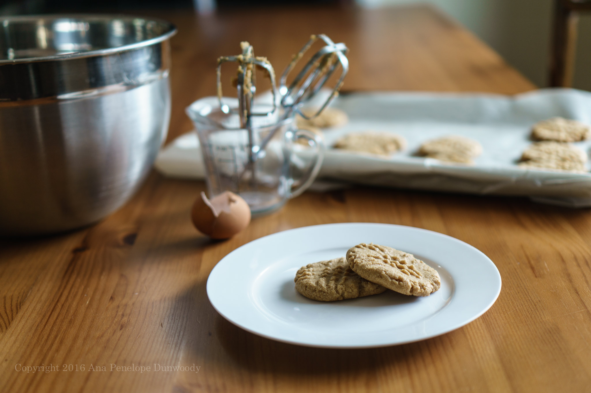51/365 Peanut Butter Cookies (gluten free)