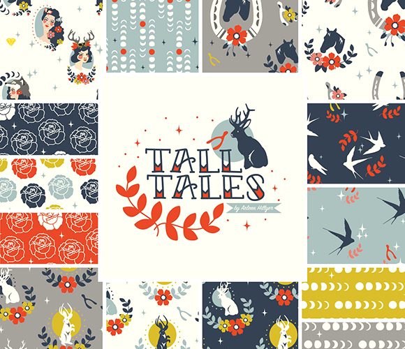 Birch Fabrics Tall Tales Collection by Arleen Hillyer